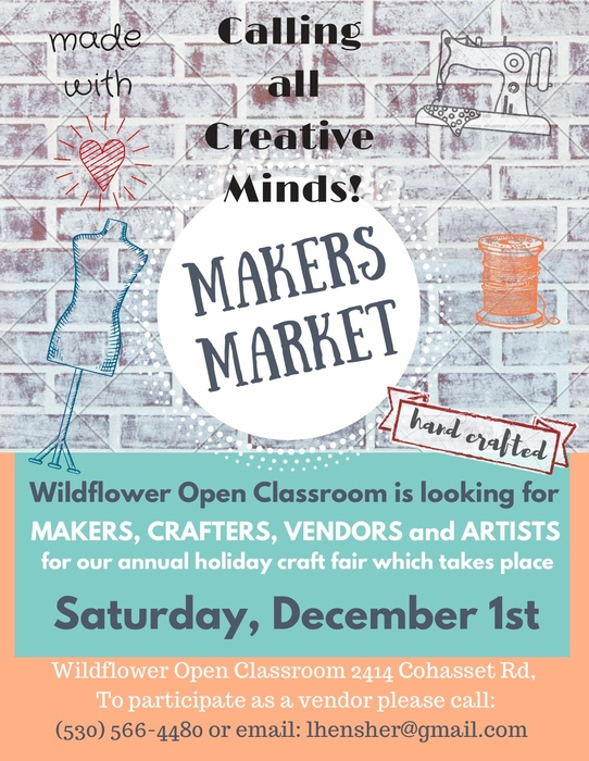 WOC Makers Market Flyer