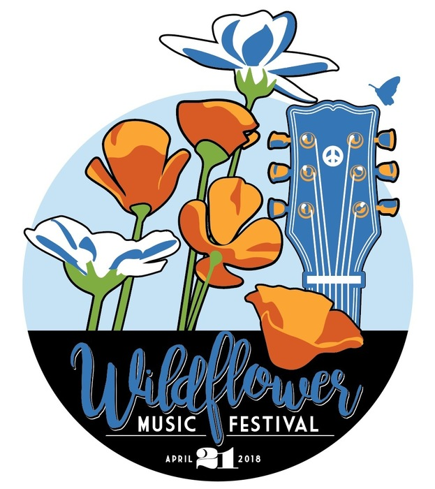 Wildflower Music Festival Logo by Jake Early